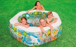 Детский надувной бассейн Intex Ocean Reef 191х178х61 (56493)