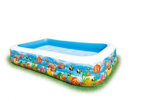 Надувной бассейн Intex Swim Center Tropical Reef 305x183x56 (58485)