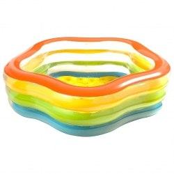 Надувной бассейн Intex Summer Colors 185х180х53 (56495)