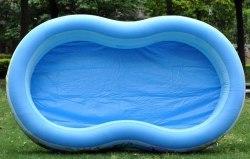 Детский надувной бассейн Intex Paradise 262x160x46 (56490)