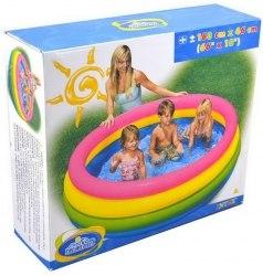 Детский надувной бассейн Intex Sunset Glow 168х46 (56441)