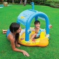 Детский надувной бассейн для самых маленьких Intex Little Captain 107x102x99 (57426)