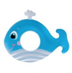 Надувной круг Intex Baby Whale 81х62 (59218)