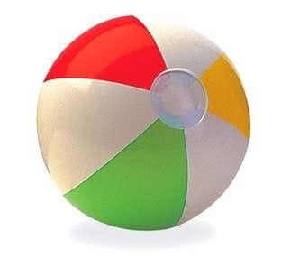Надувной мяч Intex (59010)
