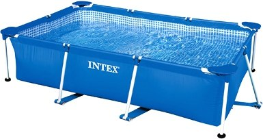 Каркасный бассейн Intex Rectangular Frame 300x200x75 (58981/28272)