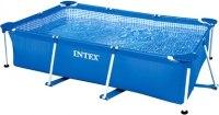 Каркасный бассейн Intex Rectangular Frame 300x200x75 (58981/28272)