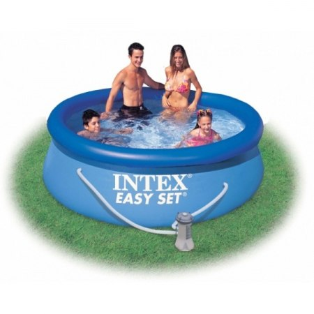 Надувной бассейн Intex Easy Set 244x76 (56972/28112) + фильтр-насос