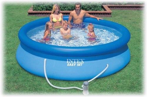 Надувной бассейн Intex Easy Set 305x76 (56922/28122) + фильтр-насос