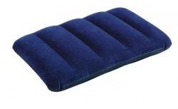 Надувная подушка Intex Fabric Pillow Royal Blue 28х43х9 (68672)
