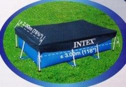 Тент-чехол для каркасного бассейна Intex (28038) 300х200см