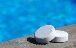 ЛОНГАФОР, 1кг, таблетки по 20гр, медленнорастворимый хлор для непрерывной дезинфекции воды
