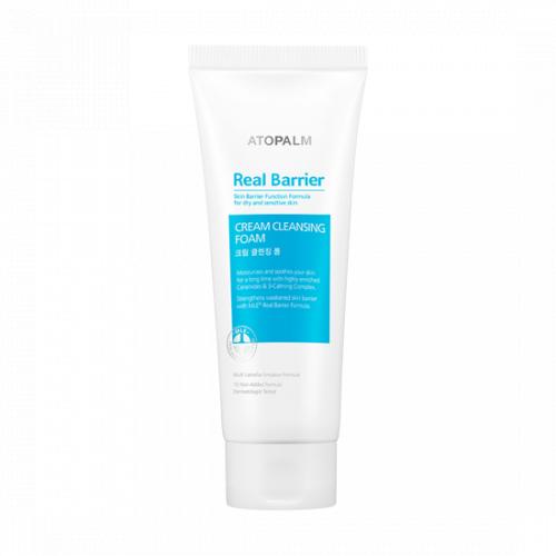 Atopalm Real Barrier Creamy Cleansing Foam Кремовая очищающая пенка Atopalm