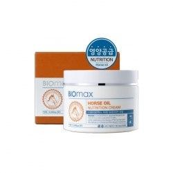 Biomax Horse Oil Nutrition Cream Питательный крем с лошадиным жиром Biomax