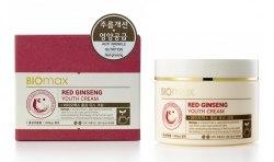 Biomax Red Ginseng Youth Cream Крем для молодости кожи с экстрактом красного женьшеня Biomax