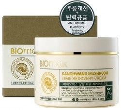 Biomax SangHwang Mushroom Time Recovery Cream Антивозрастной крем с экстрактом гриба санхван Biomax