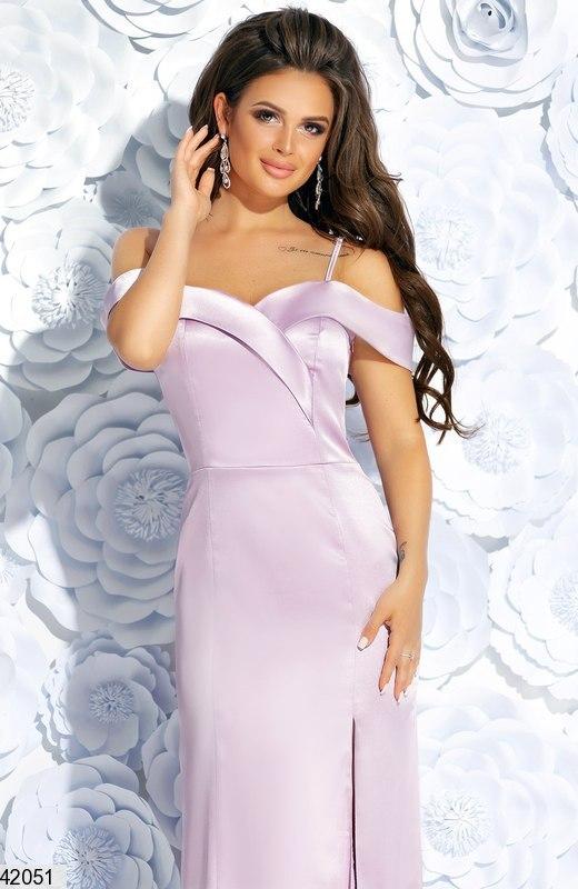 6cf7f964cd3734a Купить длинное вечернее атласное платье