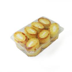 Пирожное лодочки с творогом Асату 450 гр.