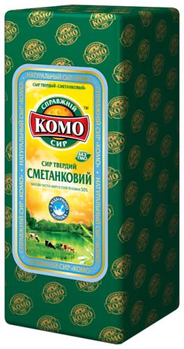 Сыр Сметанковый Комо 45% жирности