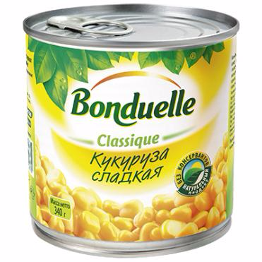 Кукуруза консервированная 425 мл Bonduelle