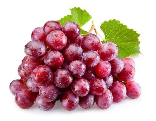 Виноград красный крупный