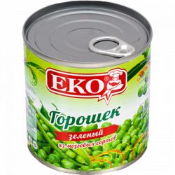 Горошек консервированный Экос 425 мл