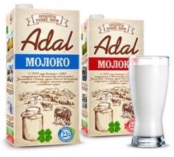 Молоко Adal 1 л.