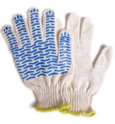 Перчатки хозяйственные простые 12 штук упаковка