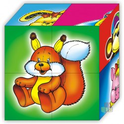 "Кубики ""Мои первые кубики"" 4шт"