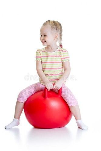 Мяч-прыгун с ручой, 65 см