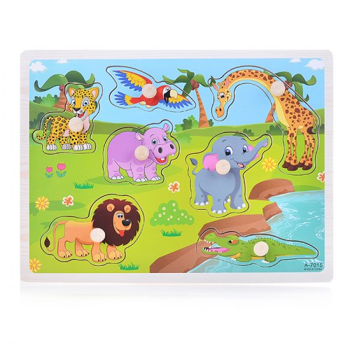 Пазл-вкладыш Животные Сафари