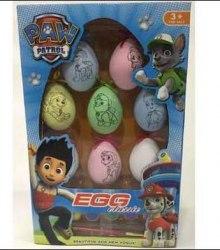 """Набор для раскрашивания яйца """"Щенячий патруль"""""""