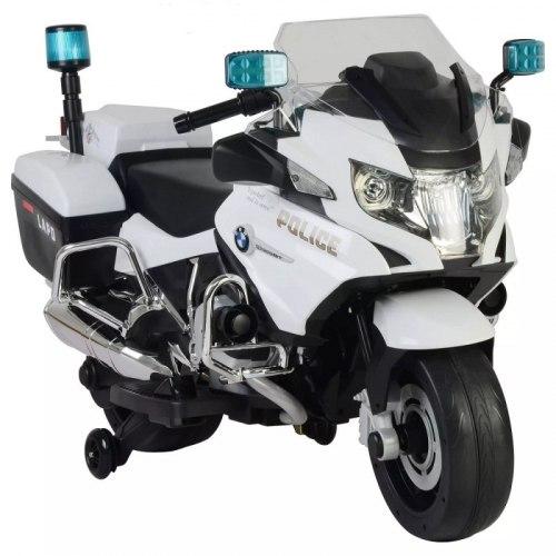 Детский электромотоцикл Chi Lok Bo BMW R 1200 RT-P / 212 (белый/черный)