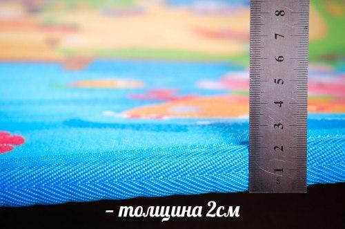 """Коврик """"Сказочное Путешествие"""" или """"Веселые Всезнайки"""" 180 на 200 см двухсторонний BabyPlay"""