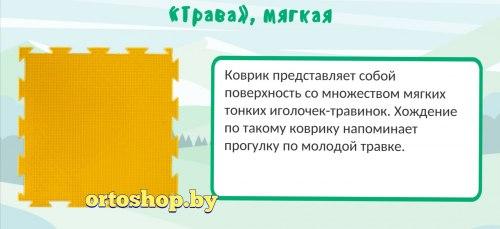 "Коврик ""ОРТО"" Микс 12 пазлов ""Медвежонок"" Ортодон + подарок"