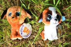 Игрушки мягкие Зверята Собачки Глазастики