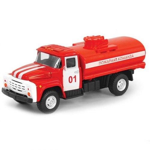 Пожарная машина в коробке