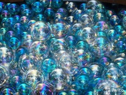 Мыльные Пузыри со свистком на веревочке, 50 мл, в ассортименте