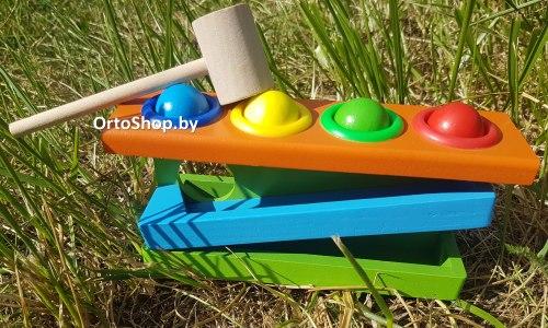 Деревянная игрушка Стучалка для малышей