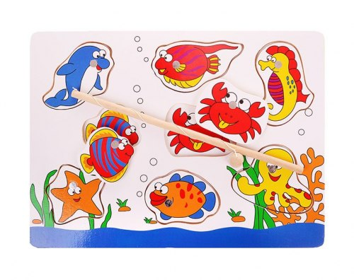 """Рыбалка """"Обитатели моря"""" с удочкой"""