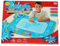 Детский игровой коврик для рисования водой