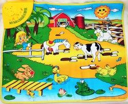 """Развивающий музыкальный коврик для малышей """"Веселая ферма"""""""