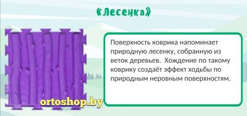 """Коврик """"ОРТО"""" Mикс 6 пазлов """"Крепыш"""" Ортодон"""