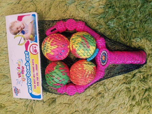 Рогатка с мягкими шариками
