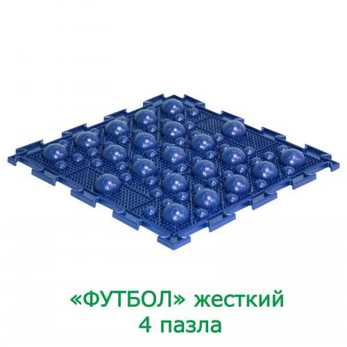 "Коврик ОРТО 8 пазлов ""Футбол"" + светоотражающий фликер Ортодон"