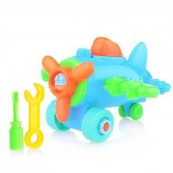 Конструктор Самолетик с отверткой Kribly Boo