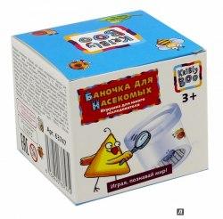 """Игрушка для юного исследователя """"Баночка насекомых"""" с лупой Kribly Boo"""
