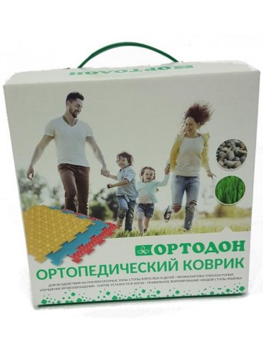 """Коврик """"ОРТО"""" Микс 4 пазла Ортодон"""