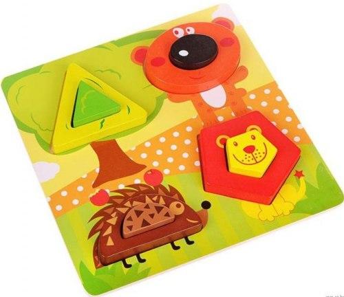 """Рамка-вкладыш """"Животные"""" для малышей"""