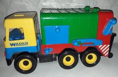 Машина мусоровоз Middle truck