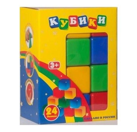 Набор из 24 кубиков